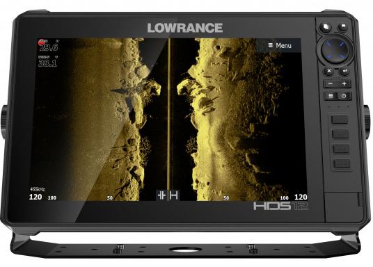 Der leistungsstarke HDS-12 Live bietet Ihnen alle aktuellen Lowrance Fishfinder Funktionen mit Unterstützung fürActive Imaging™, LiveSight™ Echtzeit-Sonar, StructureScan® 3Dund Genesis Live Kartierung. Lieferung ohne Active Imaging Geber. (Bild 3 von 8)