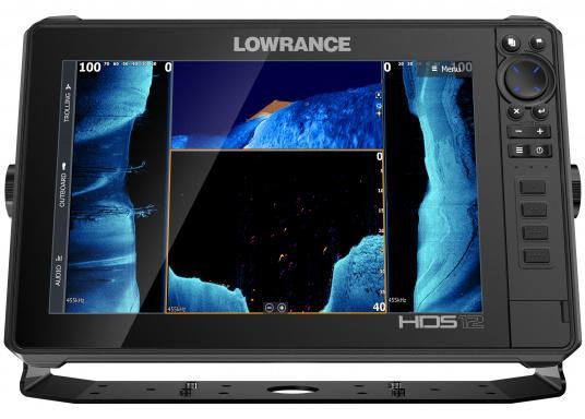 Der leistungsstarke HDS-12 Live bietet Ihnen alle aktuellen Lowrance Fishfinder Funktionen mit Unterstützung fürActive Imaging™, LiveSight™ Echtzeit-Sonar, StructureScan® 3Dund Genesis Live Kartierung. Lieferung ohne Active Imaging Geber. (Bild 7 von 8)