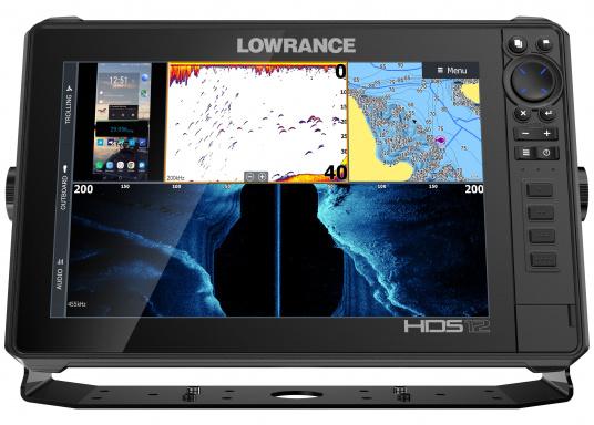 Der leistungsstarke HDS-12 Live bietet Ihnen alle aktuellen Lowrance Fishfinder Funktionen mit Unterstützung fürActive Imaging™, LiveSight™ Echtzeit-Sonar, StructureScan® 3Dund Genesis Live Kartierung. Lieferung inklusive Active Imaging Geber. (Bild 6 von 15)