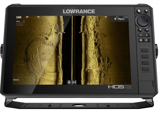 Der leistungsstarke HDS-12 Live bietet Ihnen alle aktuellen Lowrance Fishfinder Funktionen mit Unterstützung fürActive Imaging™, LiveSight™ Echtzeit-Sonar, StructureScan® 3Dund Genesis Live Kartierung. Lieferung inklusive Active Imaging Geber. (Bild 2 von 15)