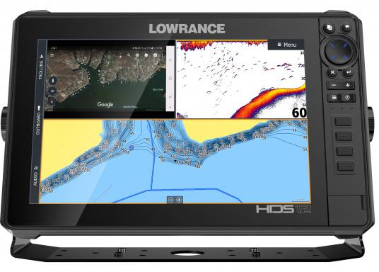 Der leistungsstarke HDS-12 Live bietet Ihnen alle aktuellen Lowrance Fishfinder Funktionen mit Unterstützung fürActive Imaging™, LiveSight™ Echtzeit-Sonar, StructureScan® 3Dund Genesis Live Kartierung. Lieferung inklusive Active Imaging Geber. (Bild 7 von 15)