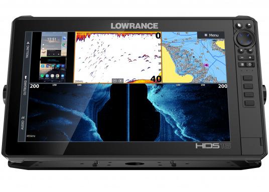 Der leistungsstarke HDS-16 Live bietet Ihnen alle aktuellen Lowrance Fishfinder Funktionen mit Unterstützung fürActive Imaging™, LiveSight™ Echtzeit-Sonar, StructureScan® 3Dund Genesis Live Kartierung. Lieferung ohne Active Imaging Geber. (Bild 4 von 7)