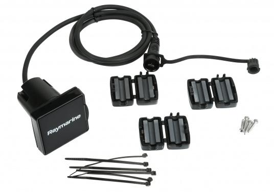 Das SD-Kartenlesegerät RCR von Raymarine verfügt über einen externen microSD-Steckplatz sowie eine USB-Buchse. Passend für die Axiom und Axiom Pro Serie von Raymarine. Kabellänge: 1 m. (Bild 4 von 4)