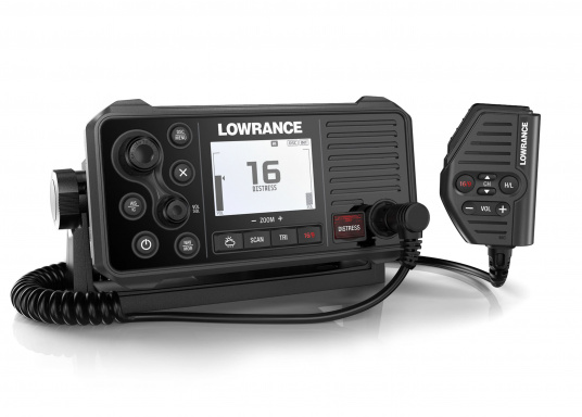 A real all-rounder! Lowrance 's Link-9 VHF radio has an integrated GPS antenna, a built-in AIS receiver and boasts versatile connectivity. A large display with an intuitive user interface ensures clear and simple operation.