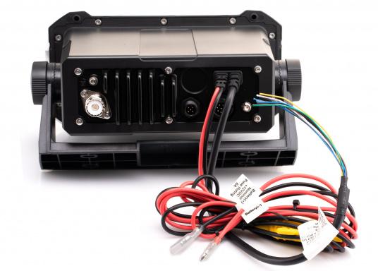 Ein echter Alleskönner! Das UKW SeefunkgerätLink-9 von Lowrance verfügt über eine integrierte GPS-Antenne, einen integrierten AIS-Empfänger und überzeugt mit vielseitiger Konnektivität. Ein großes Display mit intuitiver Benutzeroberfläche sorgt für eine übersichtliche und einfache Bedienung. (Bild 3 von 11)
