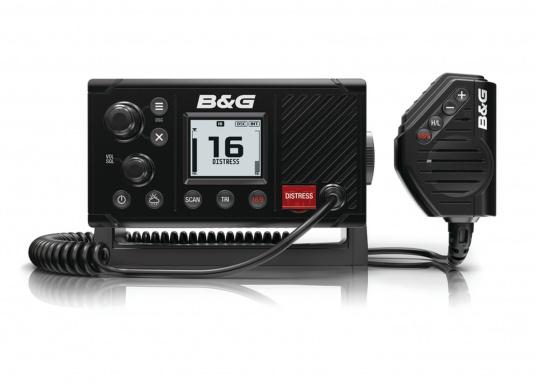 Das vielfältige UKW-SeefunkgerätV20S von B&G ist ideal für Segeltörns. Es eignet sich perfekt als eigenständiges UKW-System zur Verwendung im Cockpit oder an der Navigationsstation. Integrierte GPS-Antenne. (Bild 2 von 2)