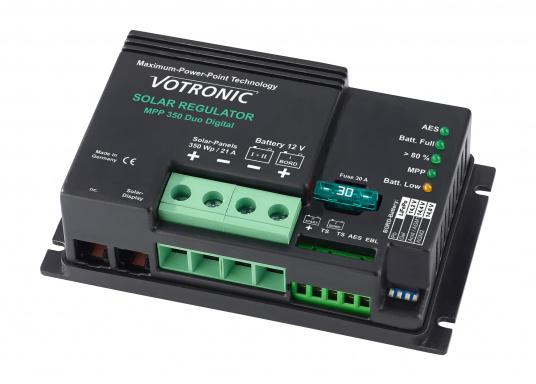 The new solar regulators with MPP-technology (Maximum-Power-Point) made by VOTRONIC in Germany are full automatic and make the most of your solar panels by providing a higher charging current and thus making charging time shorter.  