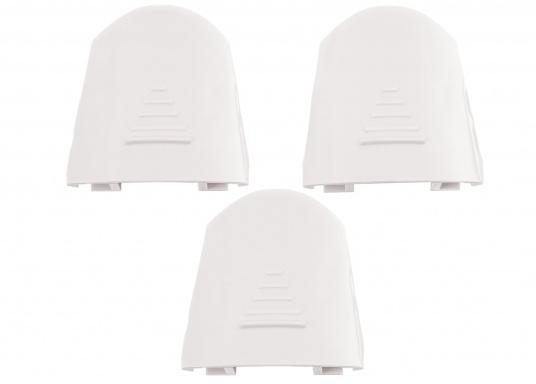Schraubenabdeckung für Ihr JABSCO WC Sockel / 3 Stück. Toiletten der Serie 37245, 37045