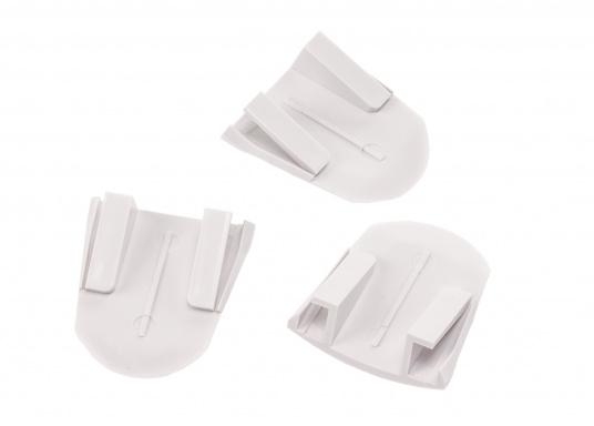 Schraubenabdeckung für Ihr JABSCO WC Sockel / 3 Stück. Toiletten der Serie 37245, 37045 (Bild 2 von 2)