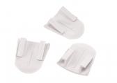 Schraubenabdeckung für WC Sockel / 3 Stück