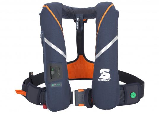 Die ergonomische SURVIVAL 275 ist mit 280 N Auftrieb für ein Körpergewicht ab 50 kg geeignet. Für Yacht- und Fahrtensegeln, Hochseesegeln (Blauwasser). Optimale Bewegungsfreiheit, für lange Törns geeignet.