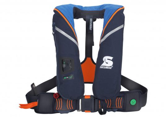 Die ergonomischeSURVIVAL 220 ist mit 220 N Auftrieb für ein Körpergewicht ab 50 kg geeignet. Für Yacht- und Fahrtensegeln, Hochseesegeln (Blauwasser). Optimale Bewegungsfreiheit, für lange Törns geeignet.
