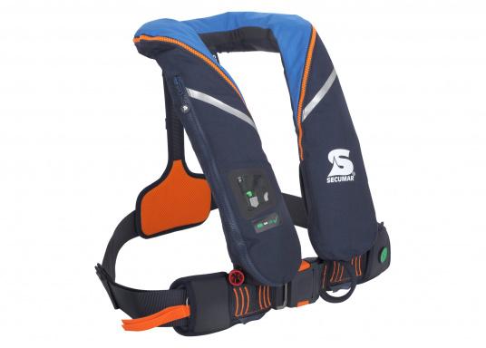 Die ergonomischeSURVIVAL 220 ist mit 220 N Auftrieb für ein Körpergewicht ab 50 kg geeignet. Für Yacht- und Fahrtensegeln, Hochseesegeln (Blauwasser). Optimale Bewegungsfreiheit, für lange Törns geeignet. (Bild 2 von 4)
