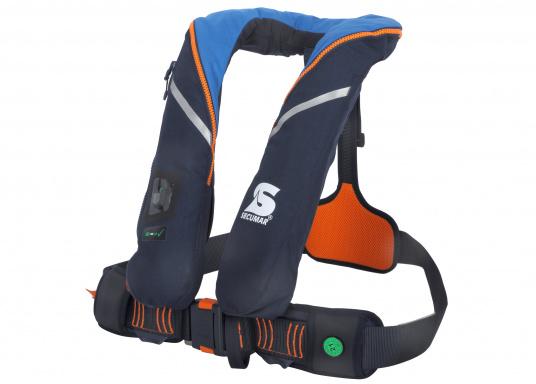 Die ergonomischeSURVIVAL 220 ist mit 220 N Auftrieb für ein Körpergewicht ab 50 kg geeignet. Für Yacht- und Fahrtensegeln, Hochseesegeln (Blauwasser). Optimale Bewegungsfreiheit, für lange Törns geeignet. (Bild 3 von 4)