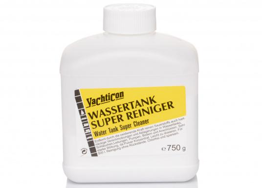 Reinigen Sie Ihren Tank mit der oxidierenden Kraft des reinen Sauerstoffs. Die sehr starke Wirkung des Pulver Konzentrats entfernt auch hartnäckige Verschmutzungen in Wassertanks, Schläuchen, Leitungen, Pumpen, Boilern und Anschlüssen.
