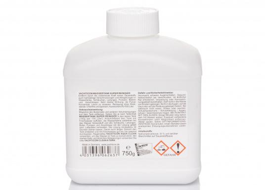 Reinigen Sie Ihren Tank mit der oxidierenden Kraft des reinen Sauerstoffs. Die sehr starke Wirkung des Pulver Konzentrats entfernt auch hartnäckige Verschmutzungen in Wassertanks, Schläuchen, Leitungen, Pumpen, Boilern und Anschlüssen. (Bild 2 von 2)