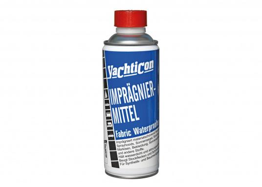 Ein Imprägniermittel, das abdichtet, schmutzabweisend und gleichzeitig atmungsaktiv ist. Geeignet für Ihr Spritzverdeck, Sonnensegel, Segelbekleidung, Biminis und vieles mehr.