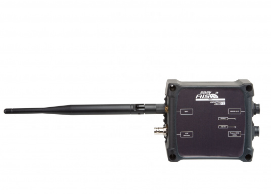 Der neue AIS-Empfänger easyAIS3 von Weatherdock überzeugt mit einer geringen Baugröße, kabelloser Datenübertragung und mit zuverlässigen Empfang. Das Gerät verfügt über einen 2-Kanal-Empfänger, mit denen sämtliche AIS-Frequenzen der Berufsschifffahrt (Class A) und der Sportbootschifffahrt (Class B) permanent abgehört und empfangen werden. (Bild 3 von 8)