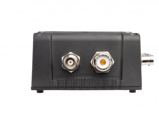 Multifunktionaler UKW Antennensplitter easySPLIT3-IS-IDVBT von weatherdock für die Auftrennung von UKW Sprechfunk, AIS und DVB-T2, FM Radio sowie DAB+ Signalen. (Bild 6 von 8)