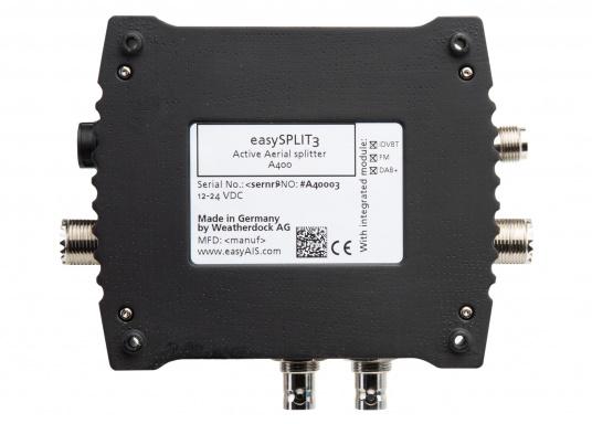 Multifunktionaler UKW Antennensplitter easySPLIT3-IS-IDVBT von weatherdock für die Auftrennung von UKW Sprechfunk, AIS und DVB-T2, FM Radio sowie DAB+ Signalen. (Bild 8 von 8)