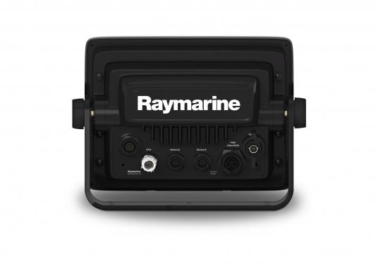 Raymarine's a98 WiFi multifunction display offers the speed and simplicity of LightHouse II in a fast and fluid touch screen experience. With extensive networking options, it will put you in control of charts, sonar, radar and more. The included CPT-100DVS transom transducer provides photorealistic underwater images. (Image 8 of 11)