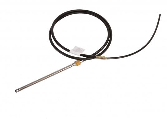Steuerkabel des Typs M66, passend für die Steuerung T85. Alle Pressstücke des Kabels bestehen aus Edelstahl III.