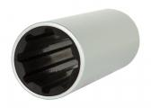 Rubber Shaft Bearing / metric inside measurement, metric outside, aluminium