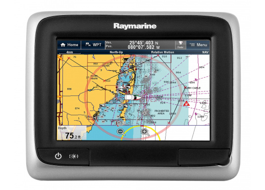 This powerful multifunction display combines simplicity and speed in a sleek and compact design. Available with FishFinder and WiFi. (Image 7 de 12)