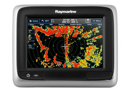This powerful multifunction display combines simplicity and speed in a sleek and compact design. Available with FishFinder and WiFi. (Image 9 de 12)