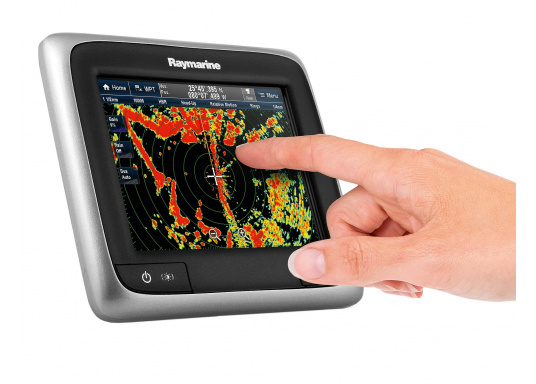 This powerful multifunction display combines simplicity and speed in a sleek and compact design. Available with FishFinder and WiFi. (Image 10 de 12)