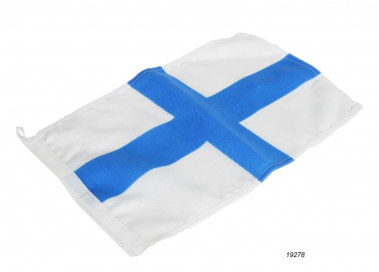 Durable nylon flags with official flag print: Marseille. High-quality fabric, 100% screen printed, quick and easy fixation.
