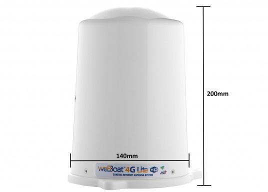 Mit der WiFi-Antenne weBBoat® 4G Lite von Glomex surfen Sie jetzt noch preiswerter im Internet. Die weBBoat 4G Lite vereint 4G, 3G und WiFi in einem System. Profitieren Sie von einer leichten Installation und Einrichtung sowie die automatische Umschaltung zwischen der Nutzung von WLAN und Mobilfunkdaten. (Bild 7 von 11)