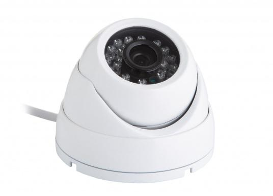 With the Glomex CamBoat WiFi surveillance camera, you can remotely monitor your surroundings from any location, at any time. This ensures safety, peace of mind and privacy throughout. (Imagen 3 de 9)