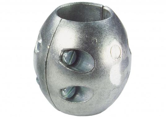 Magnesiumanoden schützen alle unter der Wasserlinie (Bootsrumpf) befindlichen Metallteile vor Korrosion.Für gewöhnlich müssen die Anoden einmal pro Saison gewechselt werden.Diese Wellenanoden sind in verschiedenen Größen erhältlich.  (Bild 3 von 3)