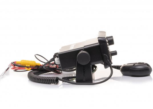 Das kompakte UKW-SeefunkgerätRay53 von Raymarine verfügt über einen eingebauten GPS-Empfänger und überzeugt mit aktueller und hervorragender Leistungsfähigkeit sowie vielseitiger Konnektivität. (Bild 4 von 5)