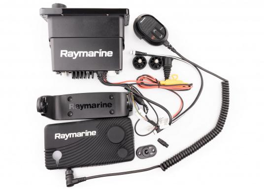 Das kompakte UKW-Seefunkgerät Ray73 von Raymarine verfügt über einen eingebauten GPS- und AIS-Empfänger und überzeugt mit aktueller und hervorragender Leistungsfähigkeit, vielseitiger Konnektivität und Flexibilität. Es besteht die Möglichkeit ein kabelgebundenen Controller anzuschließen.So können Sie Ihre Funkanlage von überall an Bord steuern. (Bild 5 von 5)