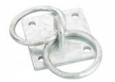 Mooring Ring / 2 Rings / Galvanized