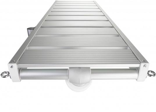 Questa passerella in alluminio non è solo bella, ma anche estremamente innovativa e pratica. (Immagine 2 di 5)