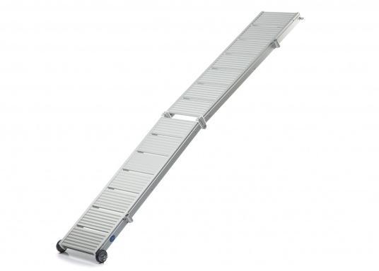 Diese Alu-Gangway ist nicht nur schön, sondern auch außerordentlich innovativ und praktisch. (Bild 2 von 5)