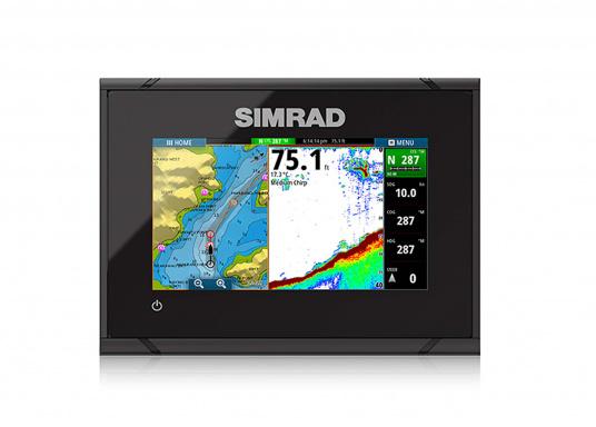Ausgestattet mit einem hochwertigen GPS-Empfänger mit 10 kHz, der Ihre Position 10x pro Sekunde aktualisiert und daher ideal für schnelle Boote geeignet. Dank dem leichten Wegepunkt-Management können Ziele leicht einprogrammiert und erfasst werden.  (Bild 2 von 5)