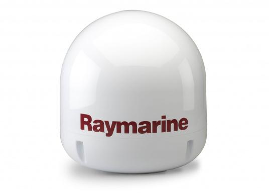 Optimaler Empfang, auch bei schlechten Wetterverhältnissen! Die Satelliten TV-Antenne 45STV von Raymarine überzeugt mit perfekter Leistung und bringt ein atemberaubendes Fernseherlebnis an Bord Ihres Schiffes. Die TV-Antenne befindet sich in einem kompakten Dom und verfolgt sowie empfängt automatisch die entsprechenden TV-Signale. Somit ist Ihnen ein schneller und zuverlässiger Zugriff auf Hunderte von digitalen TV-Sendern gewährleistet.