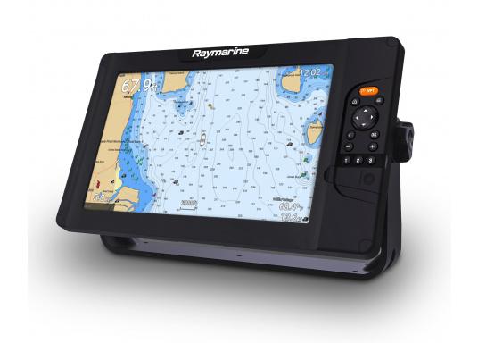 """Smartes 12""""-Multifunktionsdisplay mit benutzerfreundlicher Bedienoberfläche und integrierter GPS-Antenne. Eine klassische Tastenbedienung und dieRaymarine LightHouse Sport Oberfläche sorgen für eine intuitive Bedienung des Geräts."""