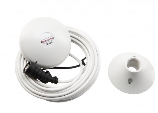 Die perfekte Ergänzung zu Ihrem Axiom XL-Display von Raymarine. Das Zubehör-Kit enthält:   1x GPS-Antenne GA150  1x SD-Kartenleser  1x Alarmsummer   (Bild 2 von 6)