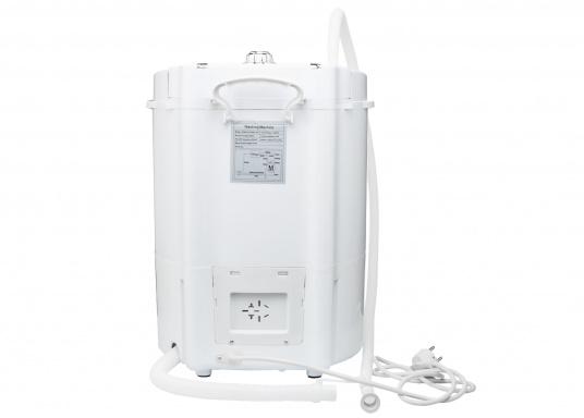 Kompakte Waschmaschine für Ihr Boot. Die intelligente Waschmaschine kann bis zu 2 kg Kleidung pro Waschgang aufnehmen und reinigt Ihre Kleidung effektiv von Schmutz. (Bild 4 von 4)