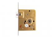 Mortise Lock for Toilet Door with Crank Latch / left