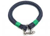SHEET Watterkant Wristband / navy blue/green