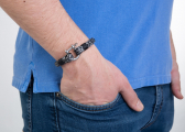HALYARD Watterkant Wristband / black/white