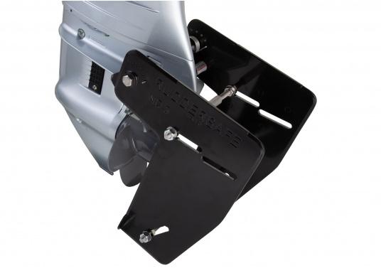Der Ruddersafe ist in verschiedenen Größen erhältlich und verbessert die Kursstabilität bei niedrigen und hohen Geschwindigkeiten. (Bild 4 von 7)