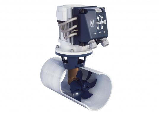 The Vetus Bow Pro Series bow thrusters are the result of the combination of their proven bow thrusters and revolutionary RIMDRIVE. (Image 1 of 1)
