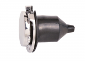 Shore Connection SCHUKO Socket / stainless steel